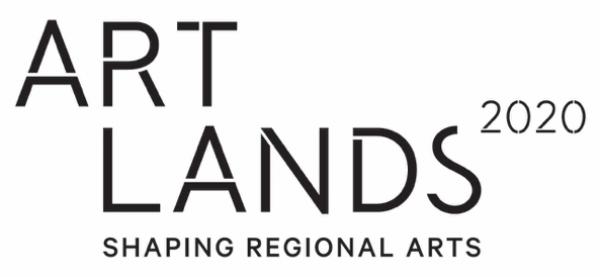 Black Artlands Logo Full Stacked