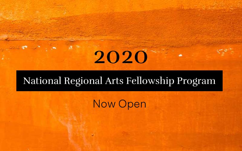 2020 National Regional Arts Fellowship Program